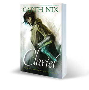 Clariel by Garth Nix - full cover